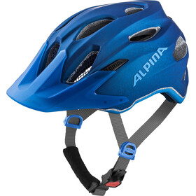 Alpina Carapax Helmet Juniors blue